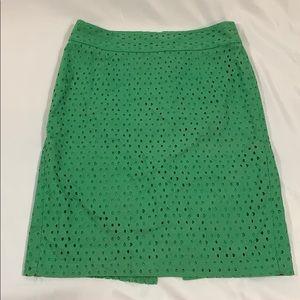 Green Banana Republic Skirt